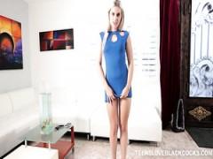 Niki Snow verdunkelt Brutal in hardcore video