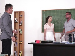 DP sex Erziehung Lektion für college-teen Gabriella Lati