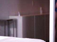 Rothaarige Schlampe mit gefälschte Titten Francesca Le genießt anal